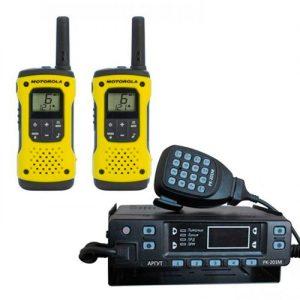 Радиостанции LPD (433-434МГц) VHF (136-174МГц)